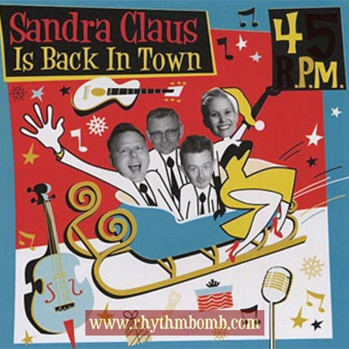 45 RPM : Sandra Claus is back in town