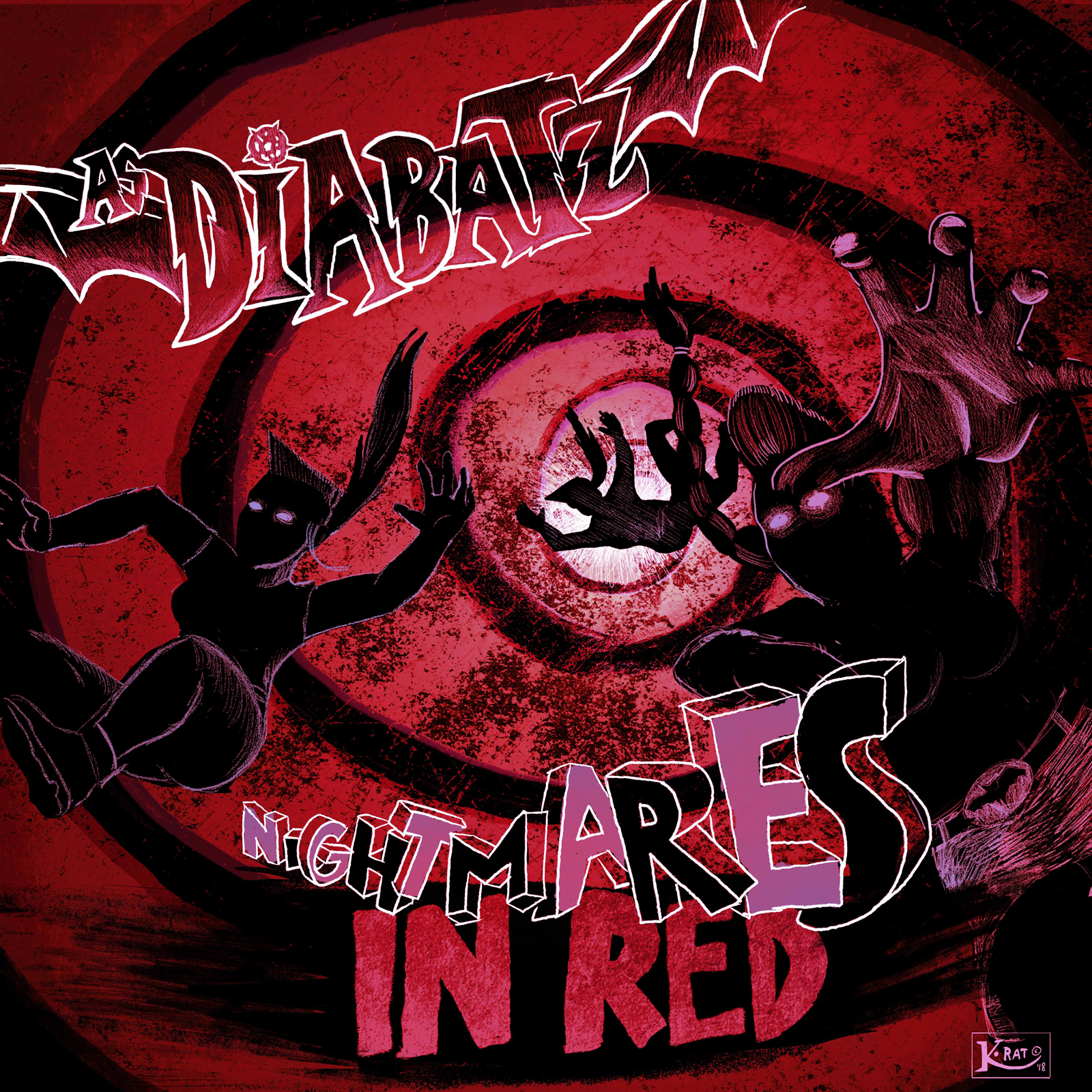 AS DIABATZ : Nightmares In Red