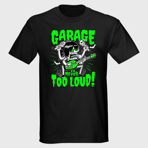 Garage Is Never To Loud ! :