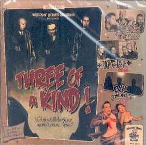 THREE OF A KIND : Various Artists