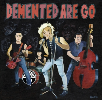 DEMENTED ARE GO : Rubber Rock / One Sharp Knife
