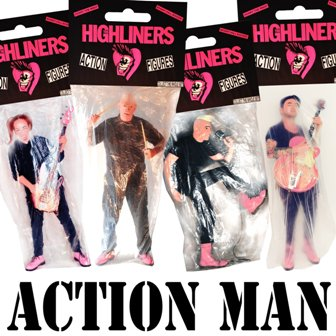 HIGHLINERS, THE : Action Man