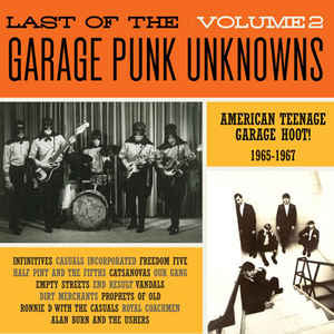LAST OF THE GARAGE PUNK UNKNOWNS : Volume 2