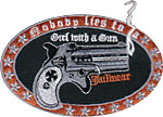 Patch Nobody Lies To A Girl With A Gun :