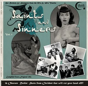 VARIOUS ARTISTS : SAINTS AND SINNERS Vol.1 : VARIOUS ARTISTS : SAINTS AND SINNERS Vol.1