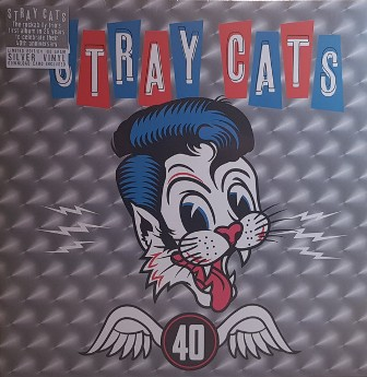 STRAY CATS : 40 (Coloured LP)