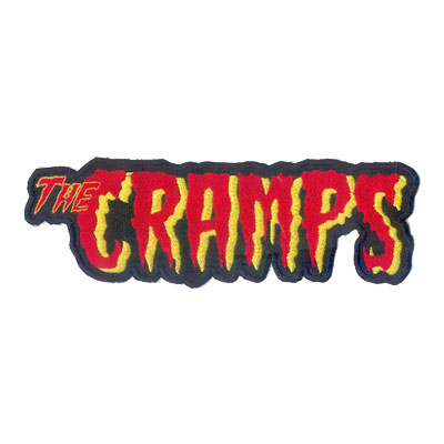 The Cramps Back Patch :