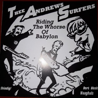 THEE ANDREWS SURFERS & POWERSOLO : Riding The Whorse.... & B.R.O.W.N