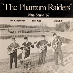 PHANTOM RAIDERS, THE : New sound '67