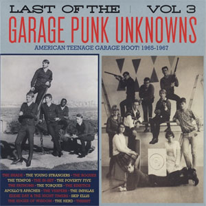 LAST OF THE GARAGE PUNK UNKNOWNS : Volume 3