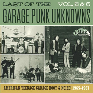 LAST OF THE GARAGE PUNK UNKNOWNS : Volume 5 & 6
