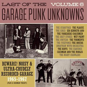 LAST OF THE GARAGE PUNK UNKNOWNS : Volume 6