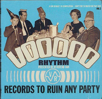 VOODOO RHYTHM LABEL COMPILATION : Volume 1 and 2