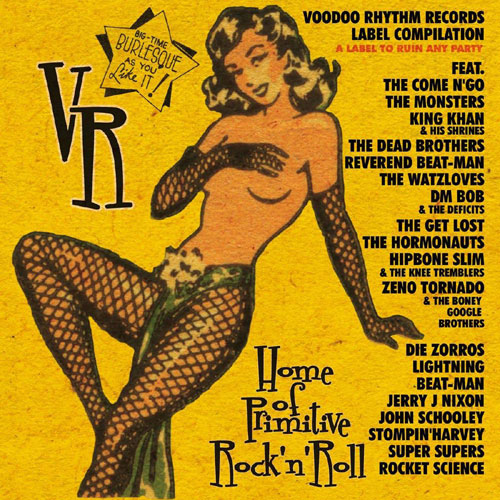 VOODOO RHYTHM LABEL COMPILATION : Vol 1 & 2