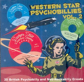 WESTERN STAR PSYCHOBILLIES : Volume 2